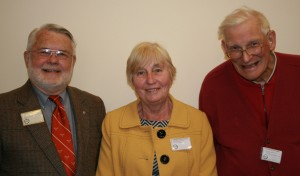 Margaret Keeling, LCF President with Donald G Davis and Philip H Hayworth