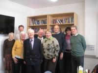 CLIS members at the offices of the Church Times