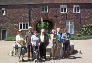CLIS Members at Fulham Palace