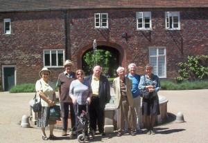 CLIS Members at Fulham Palace