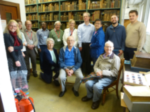 CLIS Visit to Bible Society Library, Cambridge University Library